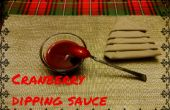 Canneberge sauce trempette