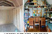 Bois hangar dans Epic Art Studio