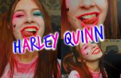 Harley Quinn Suicide Squad maquillage