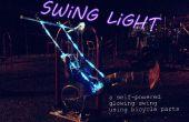 Swing Light : un vélo propulsé rougeoyante swing