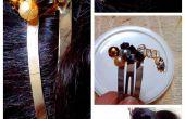 Personnalisé Hairclip perlée