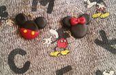Mickey et Minnie Mouse boucles d'oreilles