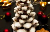 Sapin de Noël 3D de pain d'épice Cookie