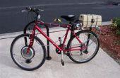 Bicyclette électrique (ebike) montage du Kit de Conversion - Centre moteur, contrôleur et batterie installation pack