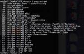 Linux / Mac dépanner ou howto créer un script d'installation en suivant l'histoire du système / trouble shoot (Oh sh * t, j'ai fait un gâchis)