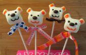 Comment faire une guimauve de la Saint-Valentin ours Pop