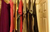 Air sec vêtements lorsque vous avez un espace limité