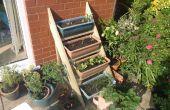 Simple échelle planteur