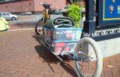 Simple remorque à vélo à roues
