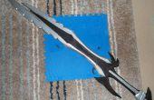 6ft long Skyrim : grande épée daedrique.