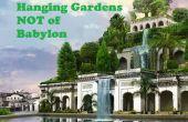 Jardins suspendus pas de Babylone