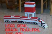 LEGO Semi remorques grains et Bin