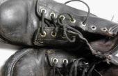 Donner des vieilles bottes un nouveau look
