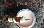 Trempette de fruits facile