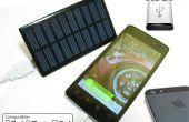 Chargeur de téléphone solaire DIY ($5 batterie gratuit - mise à jour!)