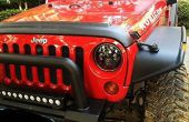 Jeep Wrangler JK LED Headlight anti-scintillement décodeurs