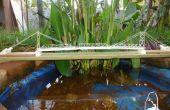 Le pont sur la rivière Phairuang: un modèle construit avec livre
