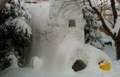 Comment faire le fort de neige Massive 3 étage.
