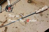 Outils pour utilisation avec Propane réservoir fonderie (aucune soudure)