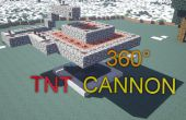 Minecraft : 360° TNT Cannon