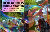 Mettre en place une STATION BODACIOUS bulle pour PARTIES, FESTIVALS & événements - créez votre propre plaisir géant!!!