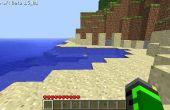 Comment faire une île flottante dans minecraft