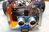 Remote Controlled Obstacle évitant Robot avec microcontrôleur PIC