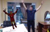 Augmented reality Using Unity3D, Vuforia, Zigfu et Kinect – caractère de contrôle avec votre corps