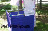 PVC Playhouse et scène de marionnettes
