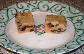 Fudge de beurre d'arachide au chocolat puce