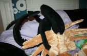 Alien animal Facehugger oreiller