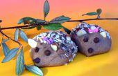 Incroyable de biscuits au chocolat de hérisson