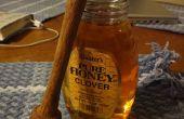 Honey Dipper sur un tour à bois