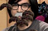Studio C épingler la moustache sur Jeremy jeu