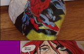 Comment peindre des personnages de bandes dessinées sur les roches