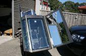 Four solaire avec suivi...