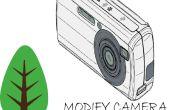 Caméra infrarouge DIY pour l'analyse de la végétation avec Canon A2300