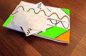 Boîte à mouchoirs origami