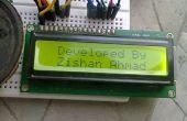 Alarme de sécurité à la maison ou un détecteur de mouvement à l'aide de LCD et capteur de Arduino,P.I.R.