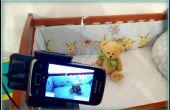 Bébé moniteur à l'aide d'un vieux téléphone Android