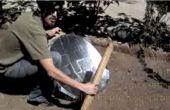 Estufa con solaire Antena y bolsas de galletas