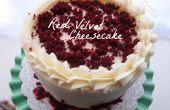 Cheesecake de velours rouge