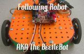 Ligne suivante SRK Robot avec pièces imprimées en 3d