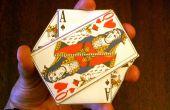 Le trois cartes Monte - une pochette Origami