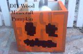 Bois Minecraft Jack O Lantern Candy Box décoration