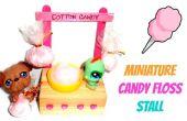 Miniature Cotton Candy décrochage (poupée artisanat)