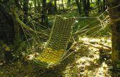 Faire un hamac en bois des branches ! par Samuel Bernier