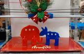 3D imprimé baiser Figurines politiques