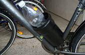 Un autre 0$ vélo porte-bouteille, tuyau base