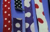 Bricolage 3 différents washi tape